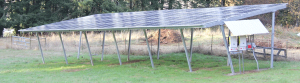 25KW Ground Mounted Solar PV System  Silverton, OR