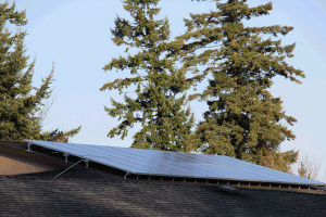 Roof Mounted Apartment Complex PV System  Portland, Oregon