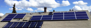 Rooftop Solar PV & Solar Hot Water Installation  Portland, Oregon